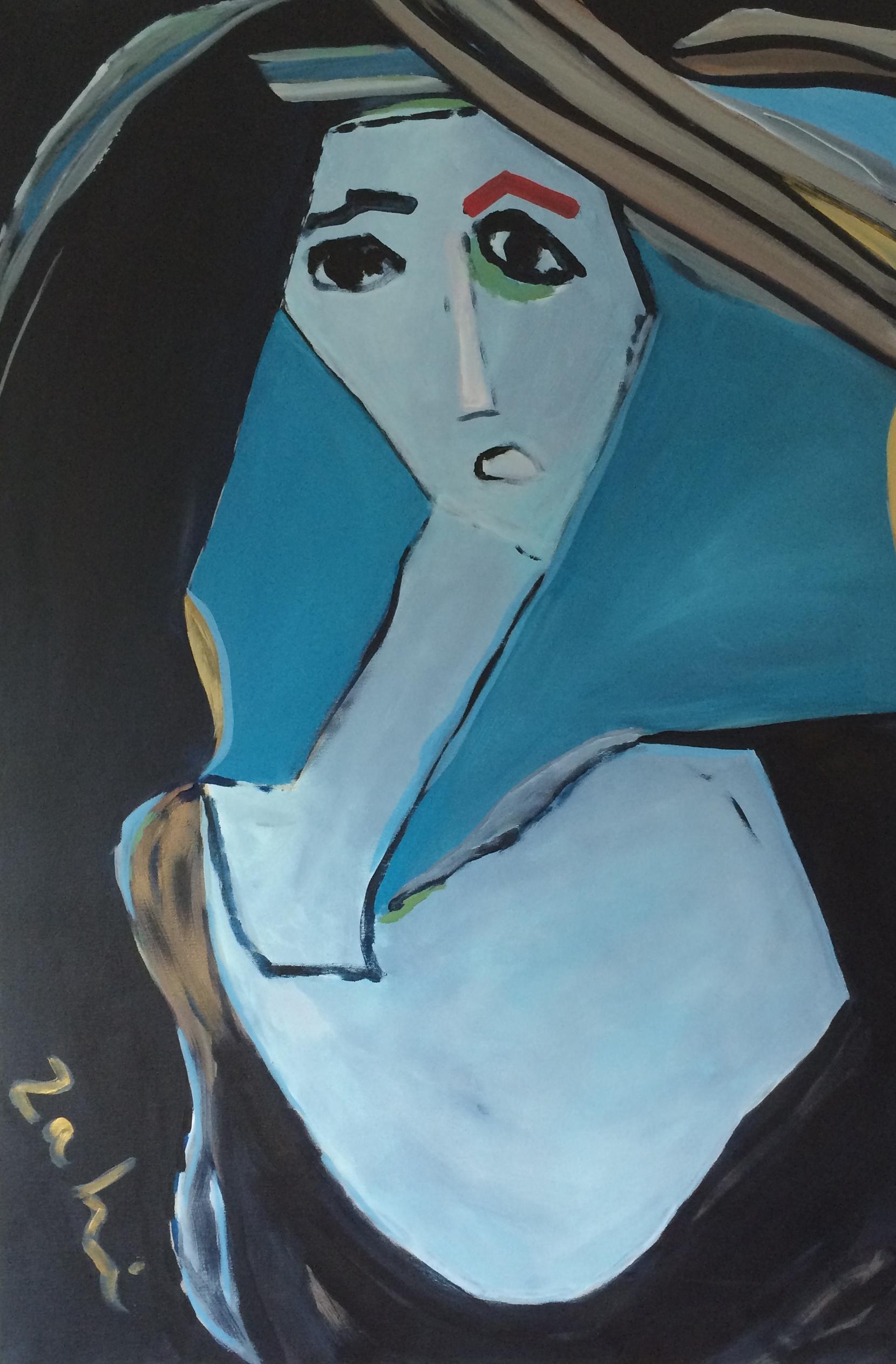 Goddess of Blue