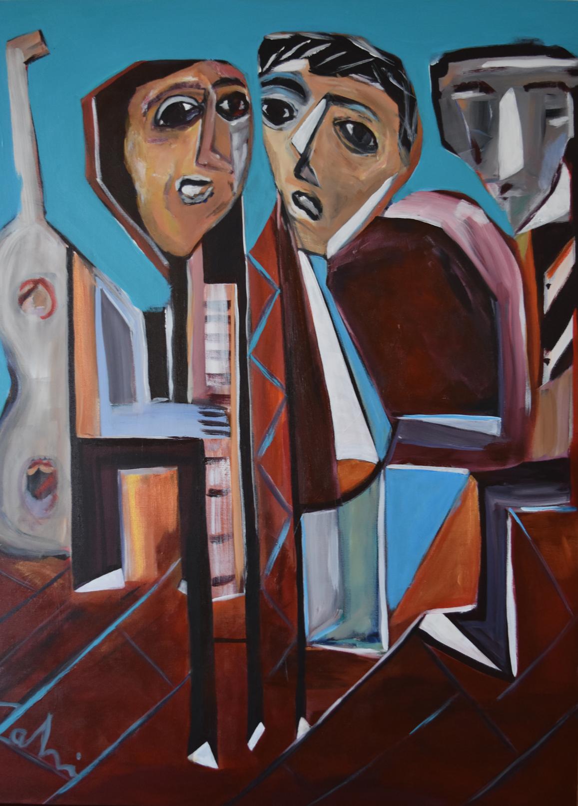 Three-Musicians